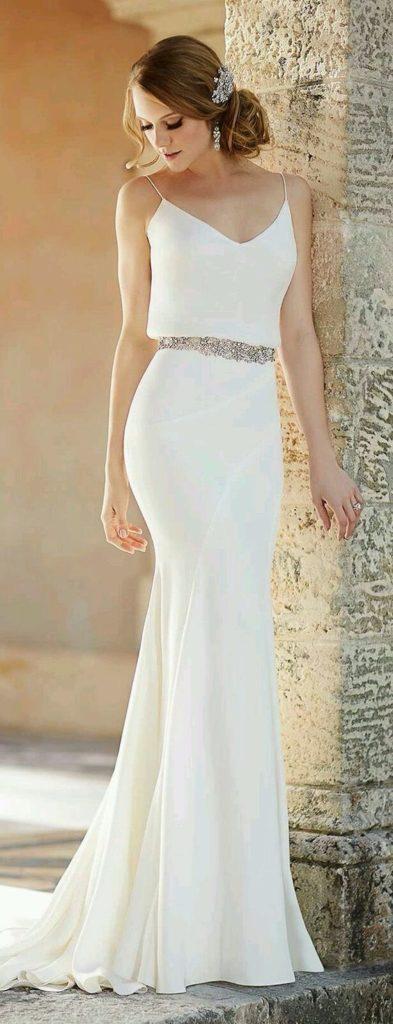 Vestido De Noiva Simples Barato E Bonito é Possível Amo