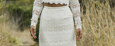 Vestido de noiva hippie