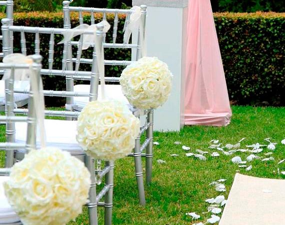 Decoração De Casamento Com Papel Crepom Amo Casamentos