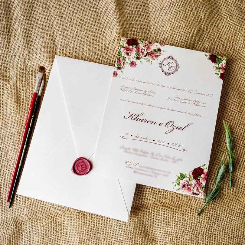 Frases para convite de casamento