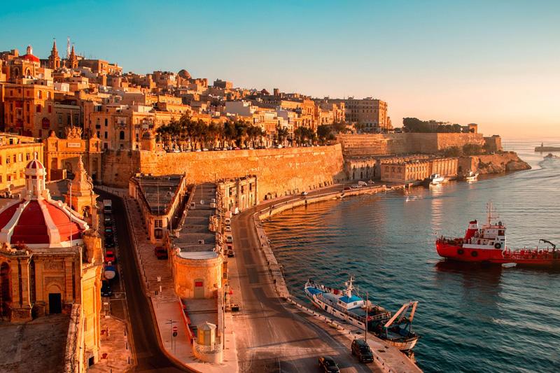 Lua de mel em Malta