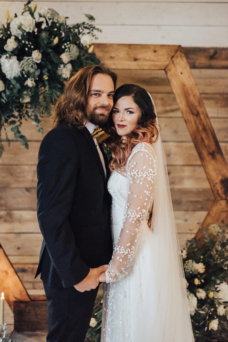 Penteados para noivo de cabelo longo