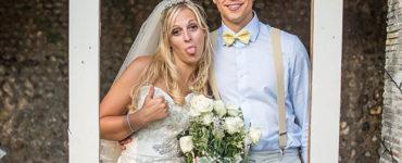 Photocall para casamento