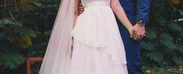 Vestido de noiva Pó de Arroz