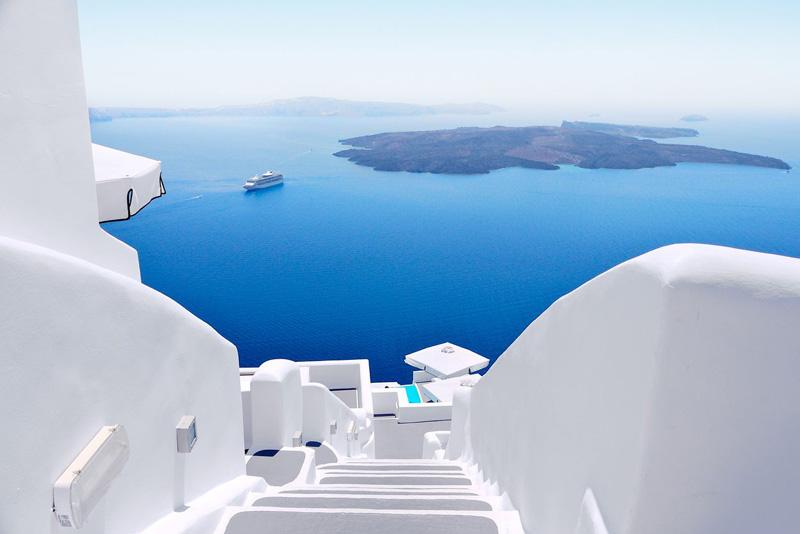 Lua de mel na Grécia
