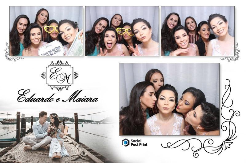 Cabine de foto para casamento