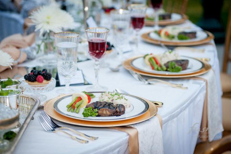 Como escolher o menu do casamento