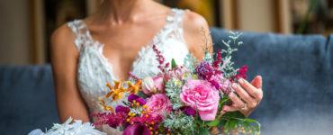 Significado do buquê de casamento